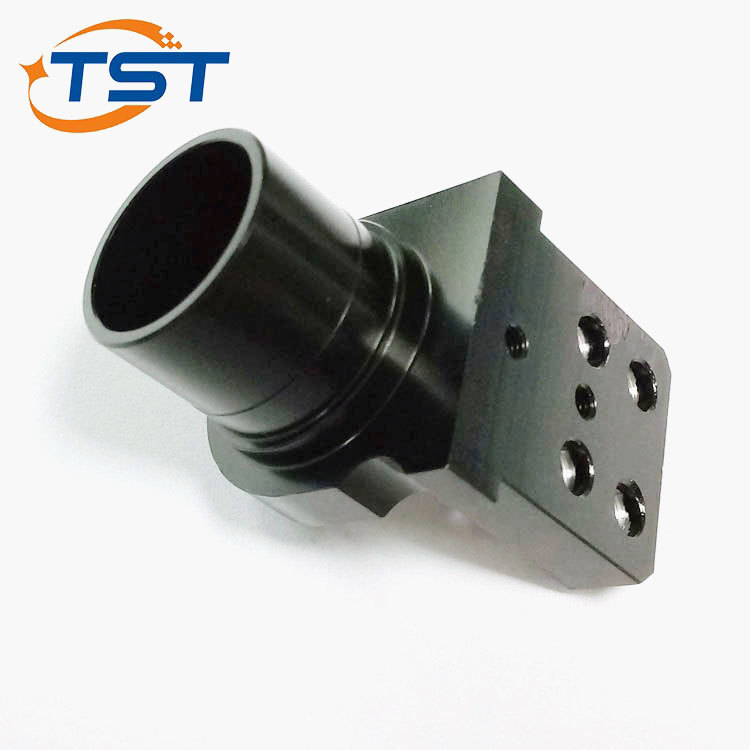 ISO 9001 Standard CNC Milling Aluminum Oxide Black Parts