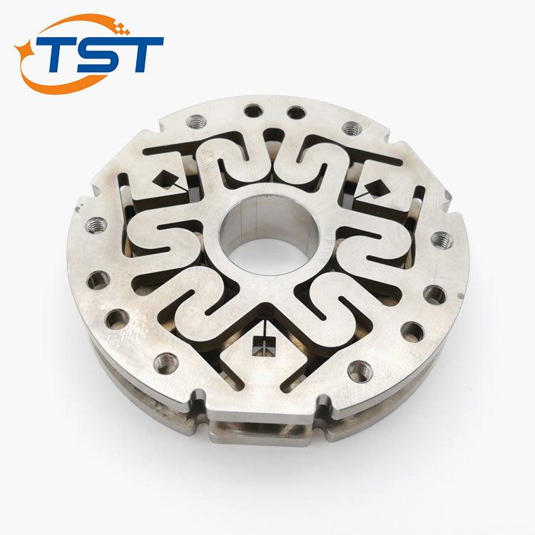 CNC Lathe And Wire Cut Machining Titanium Robot Sensor Parts