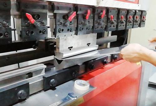 Metal Stamping working process