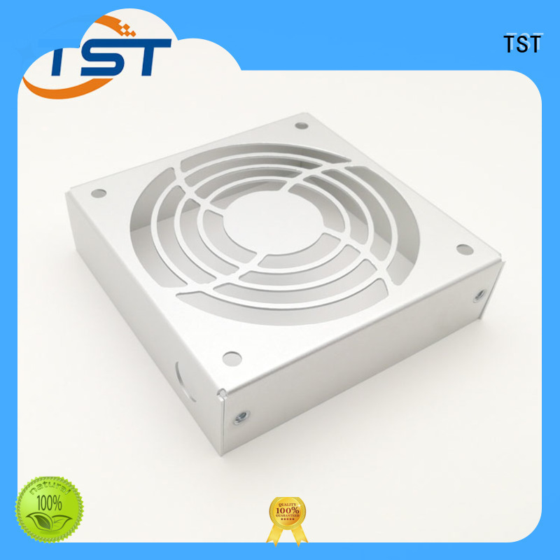 TST cutting and bending sheet metal pressing products for robots