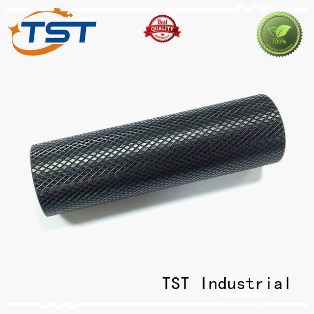 TST zinc turned parts with color anodized surface supplier
