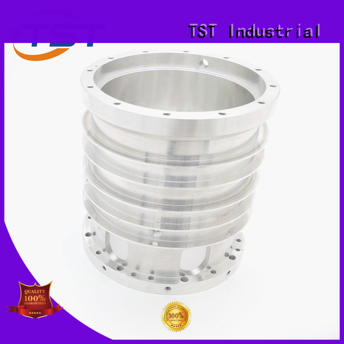 TST cnc precision milling anodized aluminum parts for robot