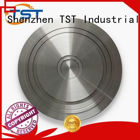 TST stainless steel cnc turning with knurling wholesale